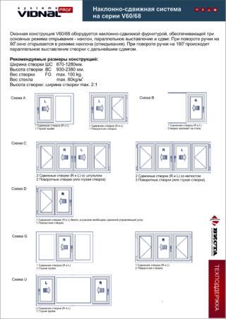 Раздвижные двери Vidnal